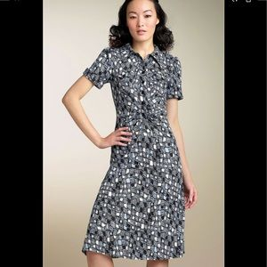 Diane von Furstenberg Polly Anna silk shirt dress2